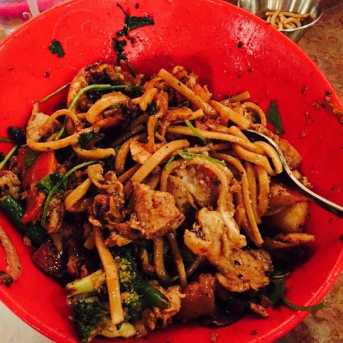 Genghis Grill Build Your Own Stir Fry Team Metro